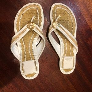 Tory Burch flip flops / sandals
